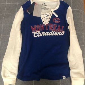 NHL Montreal Canadians long sleeve t-shirt